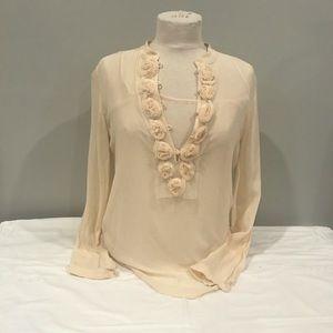 Club Monaco - size Medium 100% Silk